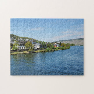 Moselle in Bernkastel Kues Jigsaw Puzzle