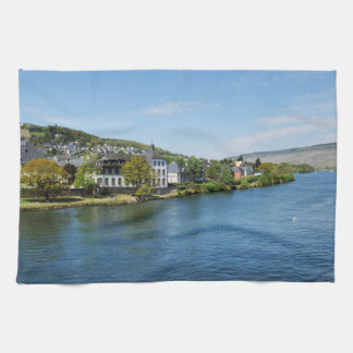 Moselle in Bernkastel Kues Kitchen Towel