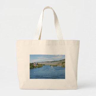 Moselle in Bernkastel Kues Large Tote Bag
