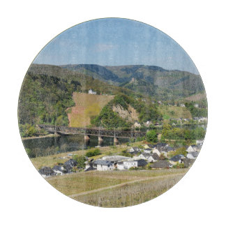 Moselle valley with Bullay Cutting Board