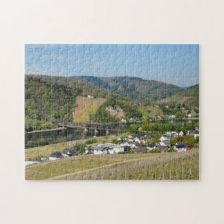 Moselle valley with Bullay Jigsaw Puzzle