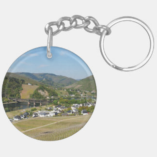 Moselle valley with Bullay Keychain