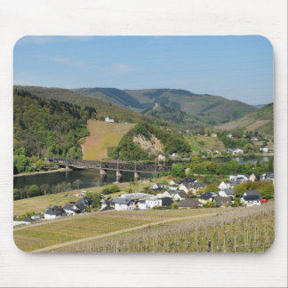 Moselle valley with Bullay Mouse Pad