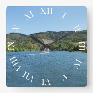 Moselle with Andel Square Wall Clock