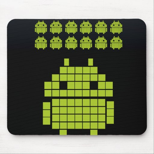 Mosepad Android Invaders Mousepads