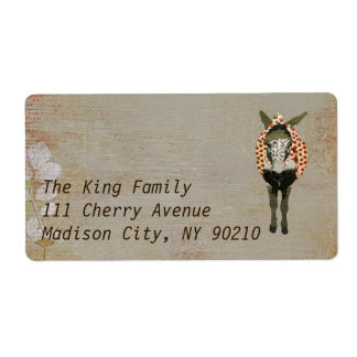 Moses Address   Label Shipping Label