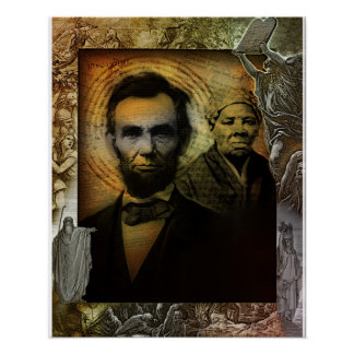 Moses and Abraham Poster