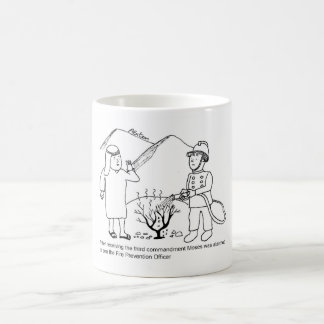 Moses and Fire Prevention Officer Coffee Mug