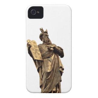 moses and ten commandments golden iPhone 4 cover