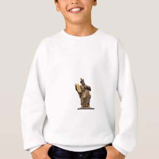 moses and ten commandments golden sweatshirt