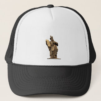 moses and ten commandments golden trucker hat
