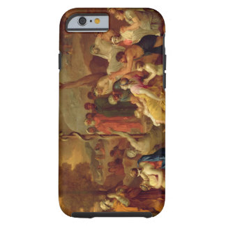 Moses and the Brazen Serpent, c.1653-54 (oil on ca Tough iPhone 6 Case