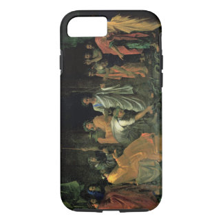 Moses and the Brazen Serpent (oil on canvas) iPhone 7 Case