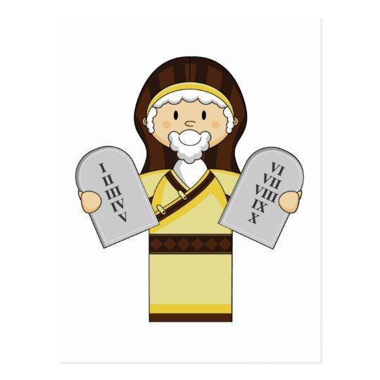 Moses Character Postcard