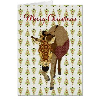 Moses  Christmas Tree Greeting Greeting Card