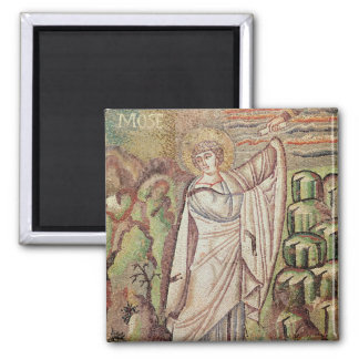 Moses on Mount Sinai Magnet