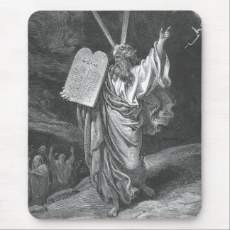 Moses on Mount Sinai Mouse Pad