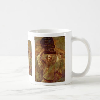 Moses With The Tablets Of The Law By Rembrandt Coffee Mug