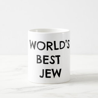 Moses' World's Best Jew Mug