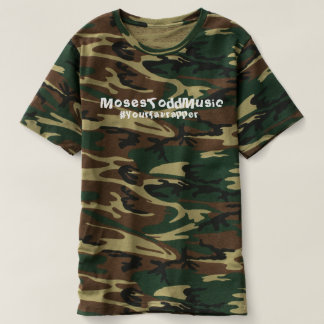 Moses (#yourfavrapper) Camo Shirt