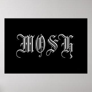 Mosh Poster