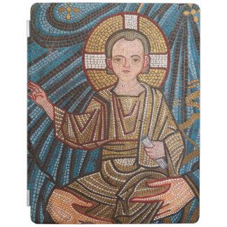 Mosic Of Baby Jesus iPad Cover
