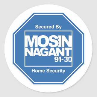 Mosin Nagant 91/30 Security 3' Stickers