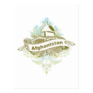 Mosque Afghanistan Postcard
