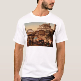 Mosque and street, Scutari, Constantinople, Turkey T-Shirt