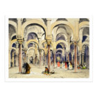 Mosque at Cordoba, from 'Sketches of Spain', engra Postcard