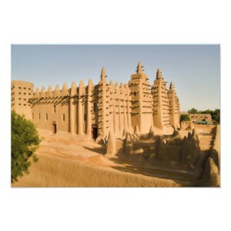 Mosque at Djenne, a classic example of Photograph