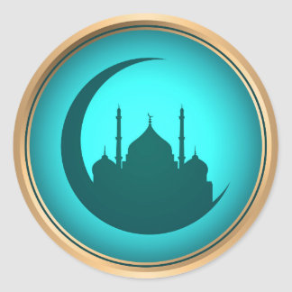 Mosque background sticker