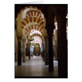 Mosque-Cathedral Cordoba Card