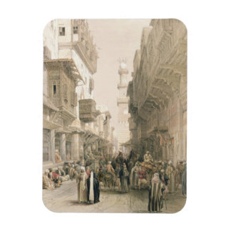 """Mosque El Mooristan, Cairo, from """"Egypt and Nubia"""" Rectangular Photo Magnet"""