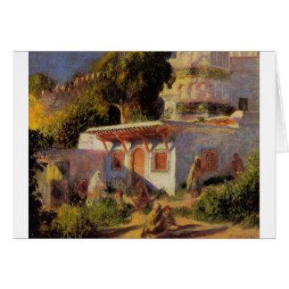 Mosque in Algiers by Pierre-Auguste Renoir Card