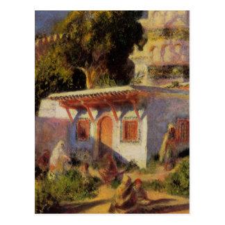 Mosque in Algiers by Pierre-Auguste Renoir Postcard