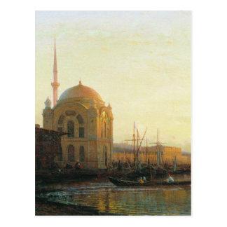 Mosque in Istanbul by Alexey Bogolyubov Postcard