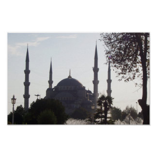 Mosque Minarets and more Poster