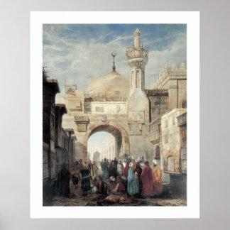 Mosque of Al Azhar in Cairo Poster