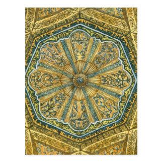 Mosque of Cordoba Spain. Mihrab cupola Postcard