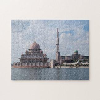 Mosque Putra Jaya Malaysia. Jigsaw Puzzle