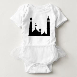 Mosque Silhouette Baby Bodysuit