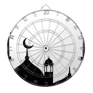 Mosque Silhouette Dartboard