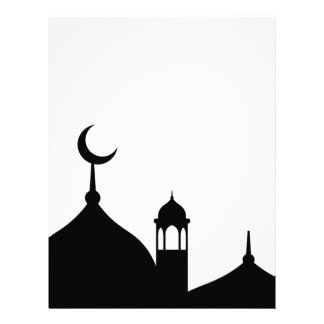 Mosque Silhouette Letterhead