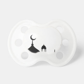 Mosque Silhouette Pacifier