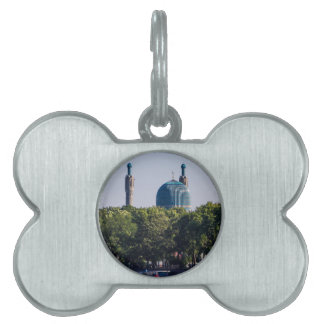 Mosque St Petersburg Russia Pet Tag