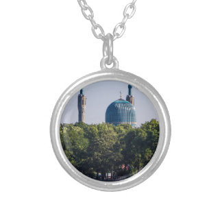 Mosque St Petersburg Russia Silver Plated Necklace