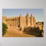 Mosquée chez Djenne, un exemple classique de Posters
