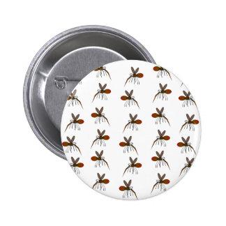 Mosquito 2 Inch Round Button