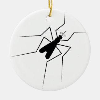 Mosquito Ceramic Ornament